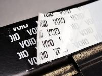 Tamper Evident Void Label