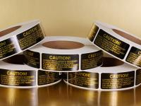 Caution Labels for Industrial Use