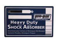 Commercial Truck Weatherproof Labels