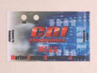 Marine Electronics Label- Polycarbonate